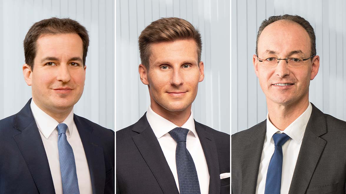 Oliver Schmidt, Deputy Head of Equities Metzler Asset Management<br/>Daniel Sailer, Leiter Sustainable Investment Office Metzler Asset Management<br/>Oliver Kopp, Gruppenleiter Corporates & Associations Metzler Asset Management