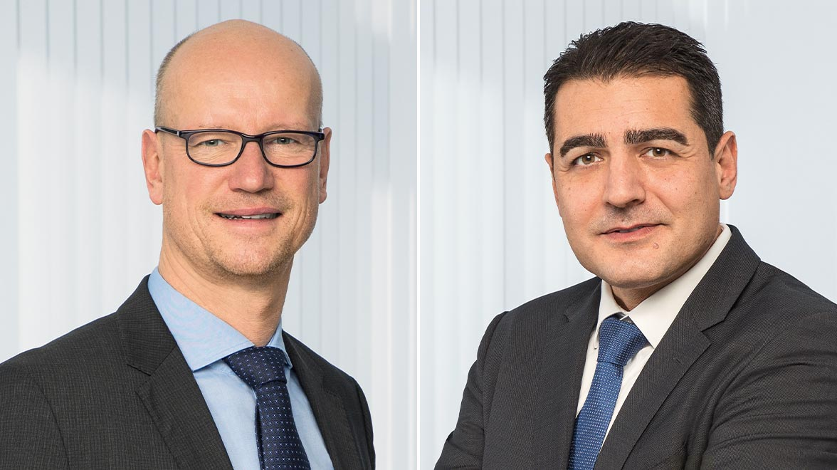 Özgür Atasever, Head of Currency Management, und Achim Walde, Senior Currency Manager