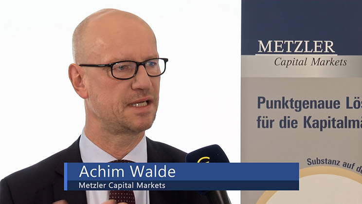 Achim Walde, Senior Currency Manager Metzler Capital Markets
