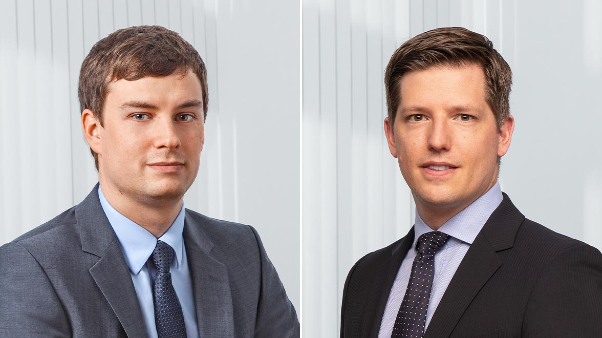 Sebastian Junker,  Portfoliomanager Investmentstrategie European Growth, <br/>Jan Rabe, Co-Leitung Sustainable Investment Office