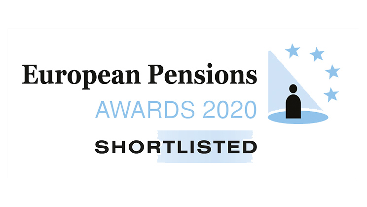 Shortlistet European Pensions Awards 2020