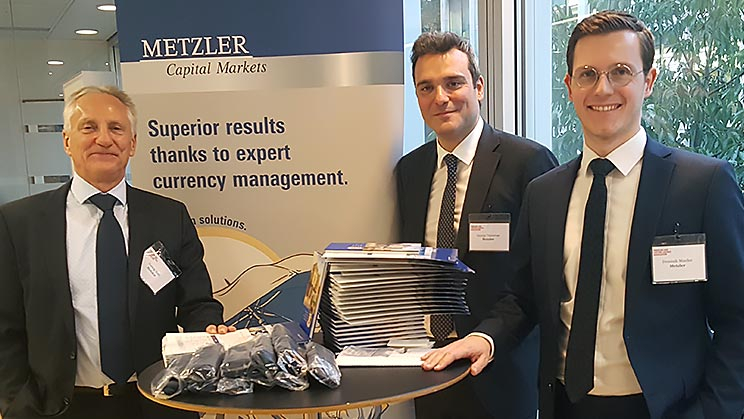 Metzler Capital Markets beim PLSA Update